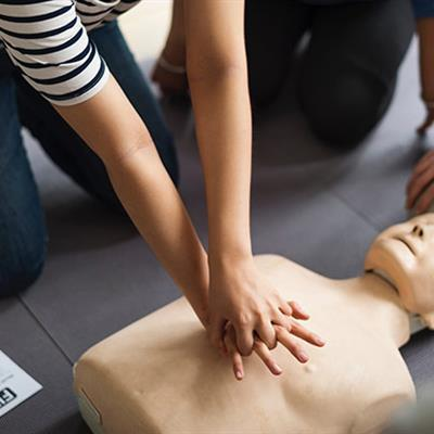 Paediatric First Aid course with an outdoor element